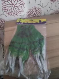 Halloween rubber gloves