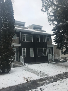 Ritchie  2.5 Story Duplex For Rent December