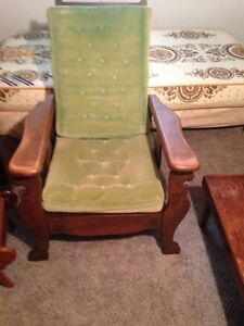 Antique Morris Recliner Chair Stratford Kitchener Area image 5