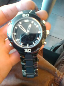 Watch for sale $40 time, date and stop watch