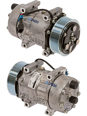 Sanden AC Compressor Fits: 04 - 15 Ford F650 - F750 L6 & V8 Turbocharged Diesel