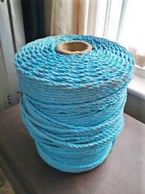Massive roll of Blue Rope