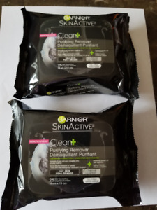 Garnier SkinActive Purifying Remover cleansing towelettes