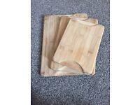 Chopping board set
