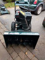 "Yardworks 28"", 277cc, 2-Stage Snowblower, almost new"