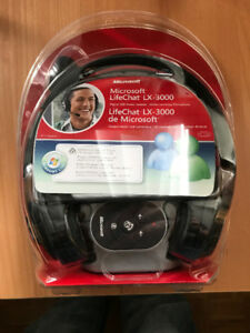 Microsoft LifeChat LX-3000 Headset (new in box)