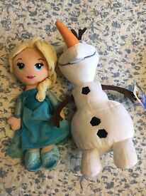 Elsa's and Olaf