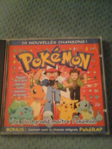 cd original québécois pokemon