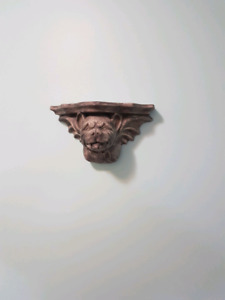Gargoyles ciramic shelf