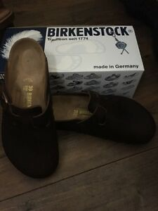 Birkenstock leather shoe