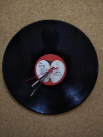 Iconic Label's Vinyl Clocks