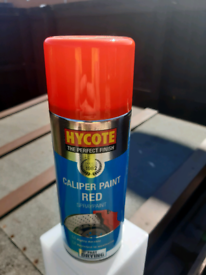 Hycote caliper paint in red