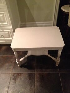 Charming Gray Occasional Table