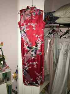 Chinese tea ceremony dress, size S