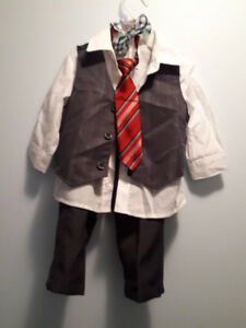 boy's 9 -12 mth old outfit