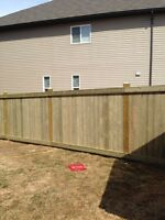Fence Construction End of Season Pricing
