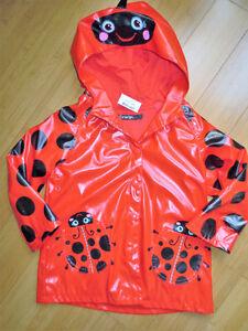 Girls Rain Jackets - Size 3