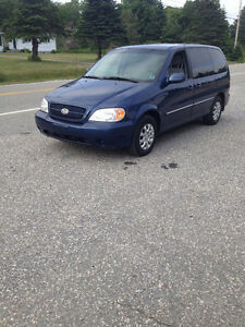 2005 KIA SEDONA 7 PSGR VAN LOADED 175000K  LOCKEPORT NS
