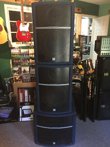 Pulse PA speakers & matched Powered Subwoofer