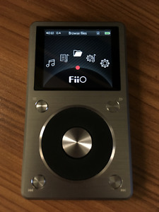 Fiio X5 Second Generation (mp3,flac,dsd high res audio player)