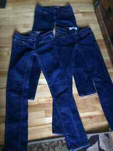Hollister and american eagle jeans
