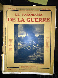 "Journal ""Le panorama de la guerre"" 8 Avril 1915 (rare)"