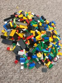 Assorted building bricks (same size as lego)