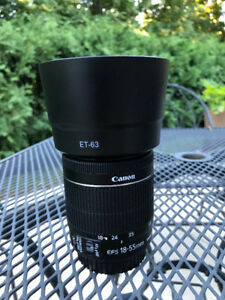 Canon Zoom lens - EFS 18 - 55mm