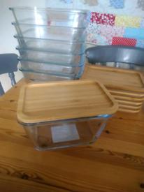 Ikea 365+ glass jars
