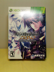 Record of Agarest War Zero Limited Edition Xbox 360