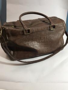 H&M weekender bag in BROWN