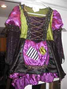 """""""Rockin' Witch"""" costume with hat for child"""