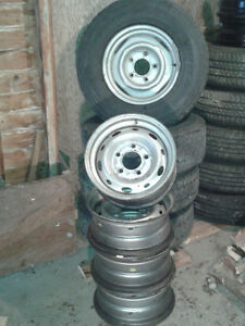 DODGE RIMS FOR P235/75/R15 TIRES