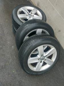 Volkswagen Rims & Tires