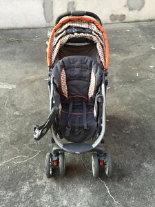 Poussette et parc pour bébé GRACO / Vélo fille 14 po