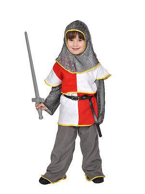 RITTER KIDS M2 KINDER 134/140 KOSTÜM FÜR FASCHING KARNEVAL HALLOWEEN (Kid Ritter Kostüm)