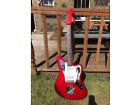 Fender Jaguar '93/'94 - crafted in Japan - matching headstock