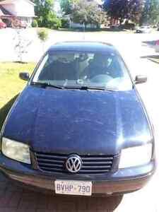 2000 Volkswagen jetta ( AS IS )
