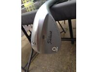 Titleist sm4 60 degrees mill spin wedge