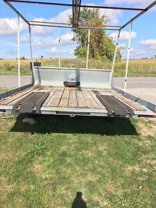 Easton tilt and load snowmobile/atv trailer