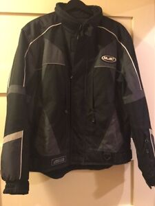 Snowmobile or atv winter suit HJC