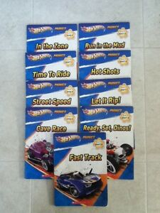 Kids Hot Wheels Phonics Book Set - 9 Books