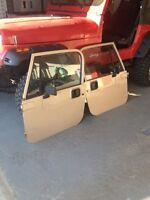 Jeep YJ hard top and doors
