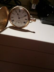 gold filled pocket watch