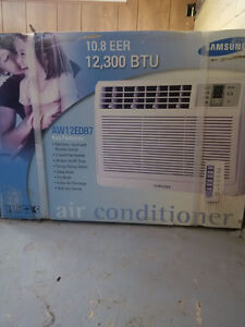 New window A/C unit