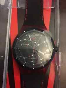 Swatch Sistem51 Red Automatic Watch