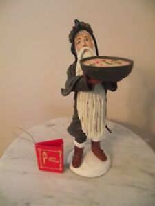 "Duncan Royale Christmas Figurine - ""Wassail"""
