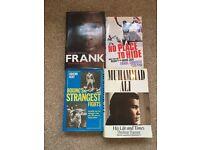 X4 boxing books Bruno. Ali