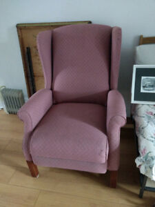 Vintage reclining chair up for grabs!