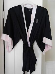 Victoria Secret Satin Robe NEW